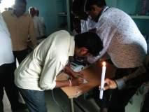 Maharashtra Voting 2019 : मतदान यंत्रावर नावेच दिसेनात; मतदान करायचे तरी कोणाला?