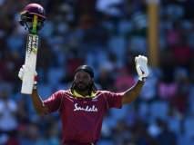 India vs West Indies : रोहित आणि आफ्रिदीला मागे टाकत गेलने केली 'ही' कमाल