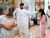 पंतप्रधान नरेंद्र मोदींनी घेतली जेटली कुटुंबीयांची सात्वन भेट
