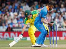 ICC World Cup 2019, IND vs AUS : धावबाद झाला म्हणून अॅरोन फिंचनं रागात केलं असं काही, Video