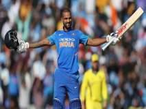 ICC World Cup 2019, IND vs AUS : गब्बरचे हे शतक खास, अशी कामगिरी करणारा पहिलाच फलंदाज