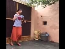 Video : 'अरे, ही तर लेडी भज्जी-बुमराह व्हर्जन', तिची भन्नाट गोलंदाजी पाहून क्रिकेटर्स हैराण!