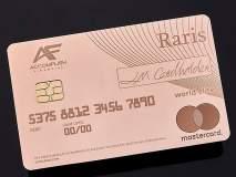बाबो! पूर्णपणे सोन्यापासून तयार केलं आहे हे ATM कार्ड, किंमत वाचून व्हाल अवाक्...