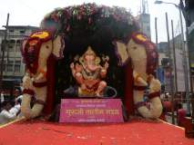 Pune's Guruji Talim Ganpati 2019: पुण्यातील तिसरा मानाचा गणपती - श्री गुरुजी तालीम गणपती