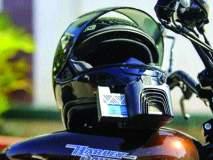 हेल्मेट न घातल्याचा चारचाकीला दंड ; पुणे वाहतूक शाखेचा प्रताप