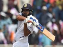 India vs South Africa, 3rd Test : रोहित शर्माचे कसोटीतील पहिले द्विशतक, षटकार खेचून केला विक्रम