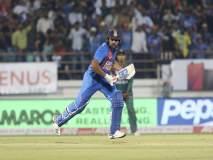 India vs Bangladesh, 2nd T20I : 'महा' नव्हे, तर रोहित शर्माचं चक्रीवादळ घोंगावलं, टीम इंडियाची मालिकेत बरोबरी