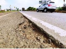 अरुंद रस्ता, रोज ७० हजार वाहनांची धाव --असुविधांचा 'महा'मार्ग