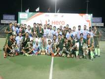 भारत-पाकिस्तानला संयुक्त जेतेपद, पण मनप्रीतने राखला चषक आपल्याकडेच