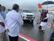 केंद्रीय गृहमंत्री अमित शहा सोलापुरात दाखल