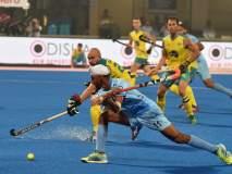 World Hockey League Final 2017 : भारत विरुद्ध ऑस्ट्रेलिया सामना बरोबरीत