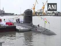 नौदलाची ताकद वाढली; 'आयएनएस खांदेरी' अत्याधुनिक पाणबुडी नौदलाच्या ताफ्यात दाखल