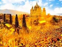 येळकोट येळकोट घे... यात्रेनिमित्त खंडेरायाची जेजुरी नटली, सोन्याहून पिवळी दिसली