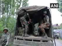 Jammu And Kashmir : सोपोर चकमकीत एका दहशतवाद्याचा खात्मा, एक जवान जखमी