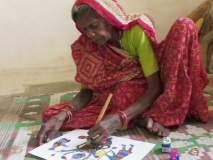 80 वर्षांच्या आजीबाईंची चित्रकलेत कमाल; इटलीतील प्रदर्शन पाहून तुम्हीही कराल सलाम