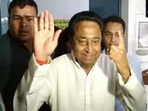 कमलनाथ सरकार अल्पमतात, राज्यपालांनी विशेष अधिवेशन बोलवावं, भाजपाचा दावा