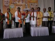 Maharashtra Election 2019 : स्वाभिमानी शेतकरीचे जिल्हाध्यक्ष भगवान काटे भाजपमध्ये