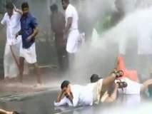VIDEO: केरळमध्ये ABVP, BJP कार्यकर्ते आणि पोलिसांत धुमश्चक्री