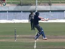 Video : बाबो; अखेरच्या षटकात फलंदाजीला आला अन् चौकार, षटकारांची आतषबाजी करून गेला