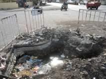 लोणंद-नीरा रोडवरील खड्ड्याने घेतला एकाचा बळी