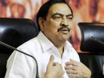 Maharashtra Election 2019: तीन तिगाडा, काम बिगाडा... एकनाथ खडसेंचा पत्ता कट होण्याची तीन कारणं!