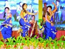 खामगाव कृषी महोत्सव : चैत्राली राजे यांच्या लावणी नृत्याने खामगावकर घायाळ
