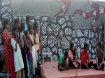 लक्ष्मीनगर मधील मुलांनी उलगडली ''माझी वस्ती ''