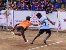 खो-खो स्पर्धा :महाराष्ट्राच्या दोन्ही संघांची विजयी घोडदौड