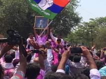 कणकवलीत महाराष्ट्र स्वाभिमान पक्षाच्या विजयाचा जल्लोष
