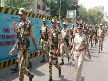 लोकसभा निवडणुकीच्या पार्श्वभूमीवर मुंबईत सुरक्षा दल तैनात