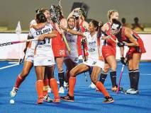 भारतीय महिलांनी उडविला अमेरिकेचा ५-१ असा धुव्वा