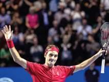 स्विस इनडोअर टेनिस : फेडररचा विक्रमी विजयासह अंतिम फेरीत प्रवेश