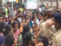 अख्खी मुंबई माझी म्हणत महापौरांनी महिलेला हात पिरगळत केली दमदाटी