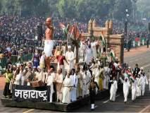 चित्ररथांमधून महात्मा गांधी यांना मानवंदना, बघा फोटो