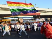 भगवान महावीर यांच्या जयंतीनिमित्त औरंगाबादेत भव्य शोभायात्रा