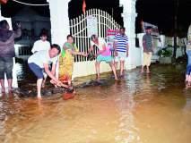 सोलापूर शहरात मुसळधार पाऊस; घराघरात शिरलं पाणी.. सोलापूरकरांची अवस्था केविलवाणी