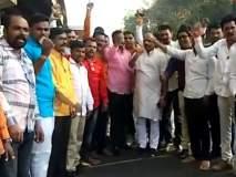 Maratha Reservation : नाशिकहून मराठा समाजाचे 200 कार्यकर्ते मुंबईकडे रवाना