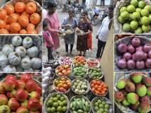 बाप्पा अन् लक्ष्मीच्या सजावटीसाठी माटीगाडाची इकोफ्रेंडली फळे सोलापुरात