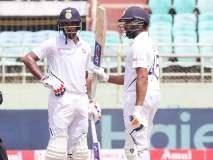 India vs South Africa, 1st Test : मयांक-रोहितची जोडी जमली; सलामीवीर म्हणून रचला इतिहास
