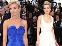 Cannesच्या रेड कार्पेटसाठी फ्रेंच अभिनेत्रीने निवडला 'या' भारतीय डिझायनरचा ड्रेस