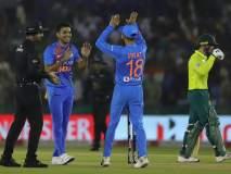 India vs South Africa, 2nd T-20 : आफ्रिकेची धडाकेबाज फलंदाजी; भारतापुढे दमदार आव्हान