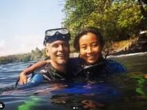 मिलिंद सोमन पत्नी अंकितासह पुन्हा एकदा गेला व्हॅकेशनवर, 'बाली'मध्ये करतायेत एन्जॉय