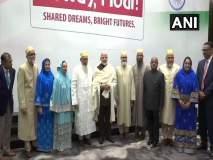 अमेरिकेतील बोहरा मुस्लिम समुदायाच्या प्रतिनिधींनी घेतली मोदींची भेट