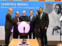 भारताने युनोला भेट दिलेल्या सोलार पार्कचे मोदींच्या हस्ते उद्घाटन