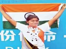 बुलडाण्याच्या महिला पोलिसाचा चीनमध्ये डंका;दोन सुवर्णासह तीन पदके