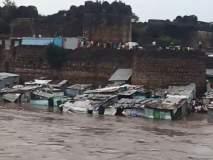 1969 नंतर पहिल्यांदाच आला मोसम नदीला पूर; अनेक घरं पाण्याखाली