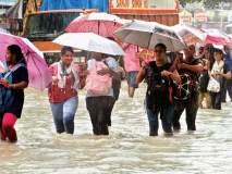 मुंबईला पुन्हा पावसाने झोडपले; रात्री उशिरापर्यंत जोर'धार' कायमअसल्याने नागरिकांचे हाल