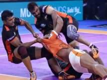 Pro Kabaddi League 2018 : महाराष्ट्र डर्बीत यू मुंबा आणि पुणेरी पलटन यांच्यात ३२-३२ अशी बरोबरी