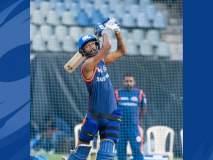 मुंबई इंडियन्सचे खेळाडू वानखेडेवर परतले, पंजाबला नमवण्यासाठी जोरदार सराव