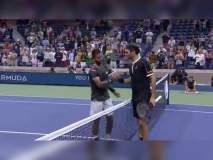 US Open Tennis : भारताचा वीर टेनिस सम्राट फेडररला काँटे की टक्कर देतो तेव्हा...